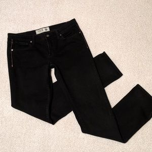 Pink by Victoria's Secret Black Denim Jeans 8R
